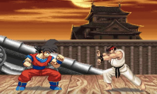 Watch Goku Take Down the Cast of 'Street Fighter II'