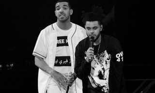 "Drake Remixes The Weeknd's Kanye-Produced ""Tell Your Friends"""