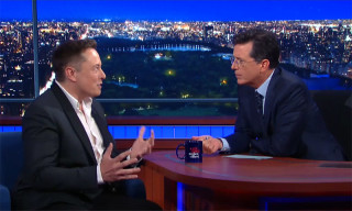 Elon Musk and Stephen Colbert Discuss Whether He's Trying to Save the World or Destroy It