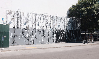 Futura Mural Underway on Houston/Bowery Wall in New York