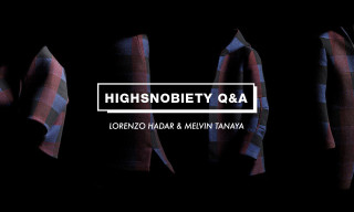 H. Lorenzo & Song for the Mute's Melvin Tanaya Talk Collaboration, Sourcing Fabrics & Lupe Fiasco's Involvement