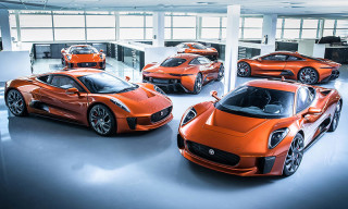 Jaguar C-X75 to be Driven by 'Spectre' Bond Villain
