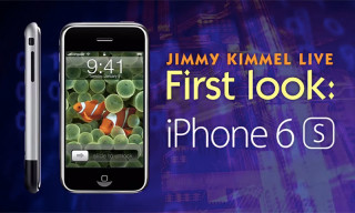 "Jimmy Kimmel Gives People a First Look at the ""iPhone 6s"""