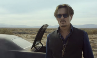 Johnny Depp Plays Guitar, Drives Into the Desert, and Digs a Hole in New Dior Ad