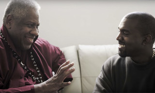 Kanye West and André Leon Talley Talk All Things Yeezy
