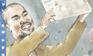 Kanye West Becomes the First Rapper to Grace the Cover of 'The New Yorker'