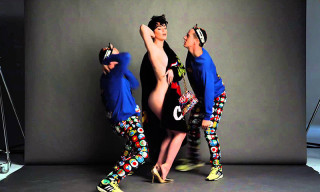 Katy Perry Shows Some Skin for Moschino's Fall/Winter 2015 Campaign
