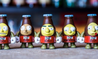 Kidrobot Partners With 'The Simpsons' on Duff Beer Mini Figures