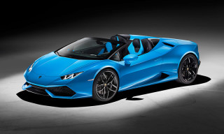 Lamborghini's Huracán LP 610-4 Spyder Combines Performance and Lifestyle