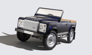 Land Rover Celebrates 60 Years of the Defender With Pedal Car Concept