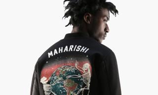 "maharishi Goes the Way of the Ninja in Fall/Winter 2015 ""Morph Cycle"" Lookbook"