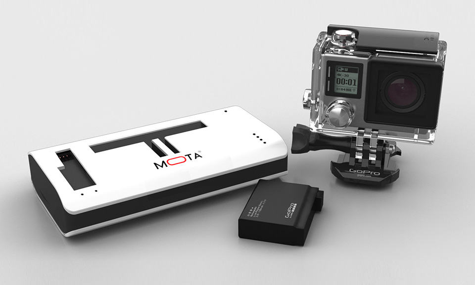 MOTA Wireless Charger For GoPro