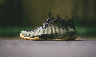 "Nike Serves up the Air Foamposite One PRM in ""Olive"""