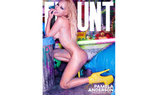 Pamela Anderson Covers 'Flaunt' Magazine's #CALIFUK Issue