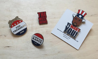 "PINTRILL Cast Their Vote for Kanye With ""Yeezy for President"" Pins"
