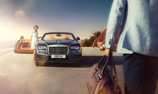 Rolls-Royce Unveils New Dawn Convertible