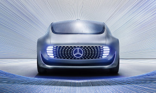Sarah Illenberger Makes the Mercedes-Benz F 015 Approachable Through Art