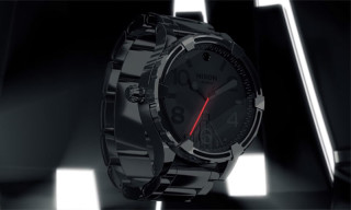 Watch This Teaser Video of the Star Wars x Nixon 'Darth Vader' Timepiece