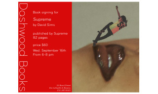 Supreme Created a Book With David Sims and It Releases Next Week