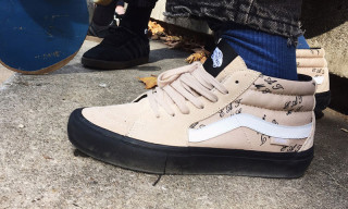 Supreme and Vans Rework the Sk8-Mid For Fall/Winter 2015