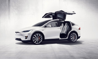 Tesla Finally Unveils the Futuristic Model X Electric SUV