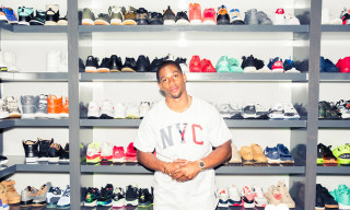 A Look Inside Victor Cruz's Larger Than Life Sneaker Closet