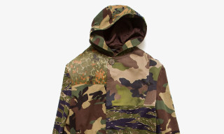 Yohji Yamamoto Gets Abstract on a Patchwork Camouflage Parka