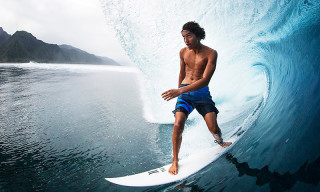 17-Year-Old Surfer Matahi Drollet Takes on the World's Heaviest Wave