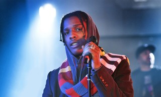 "A$AP Rocky Performs ""Electric Body"" With a Live Band"
