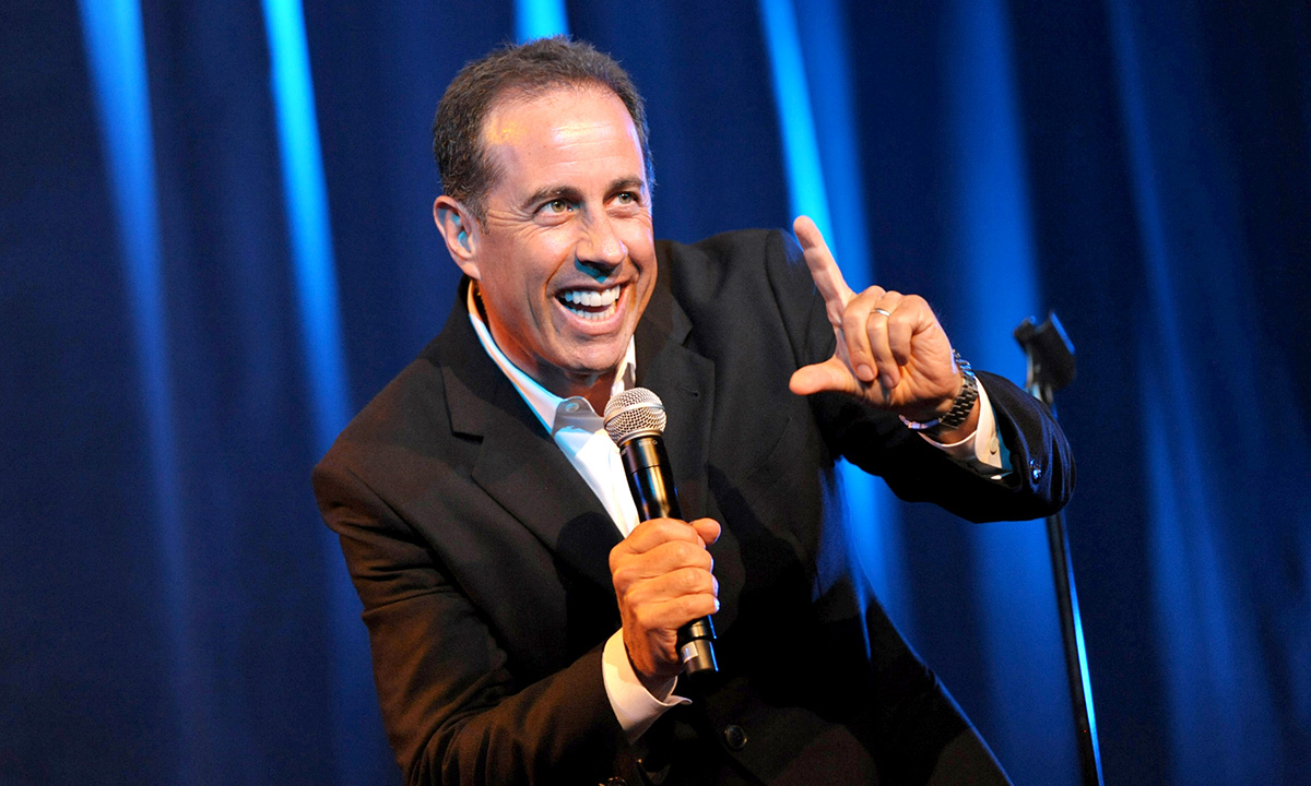 Richest Comedians - Jerry Seinfeld