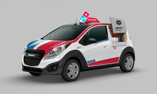 Domino's Built Custom Delivery Cars With Built-In Pizza Ovens