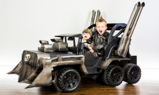 This 'Mad Max' Power Wheels Is One of the Best Halloween Costumes
