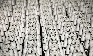 500 'Star Wars' Stormtroopers Took Over the Great Wall of China