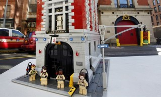 Here Is a First Look at the Official LEGO x Ghostbusters Firehouse Headquarters