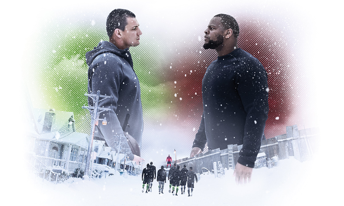 """Nike Welcomes Winter With Star-Studded """"Snow Day"""
