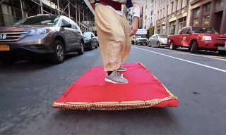 Aladdin in Real Life: Watch This Epic Magic Carpet Ride Prank