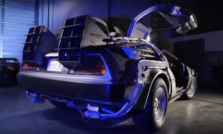 Restoring the Original DeLorean From 'Back to the Future'