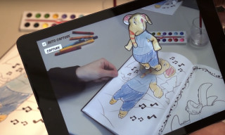 Watch Coloring Books Come to Life With the New App From Disney Research