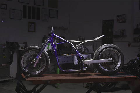 How To Turn A Suzuki Dirt Bike Into Modern Cafe Racer Part 2