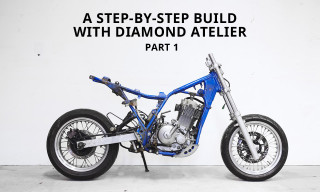 How to Turn a Suzuki Dirt Bike into a Modern Cafe Racer – Part 1