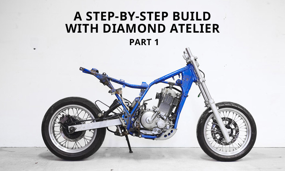 Turning A Dirt Bike Into A Cafe Racer