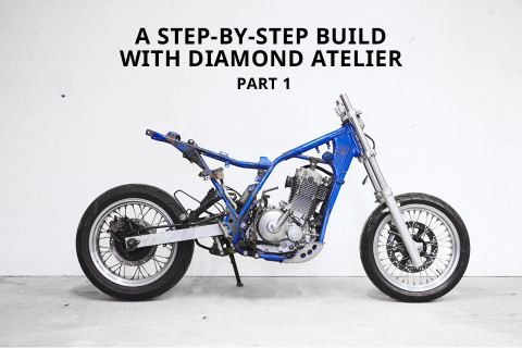 How To Turn A Suzuki Dirt Bike Into Modern Cafe Racer Part 1