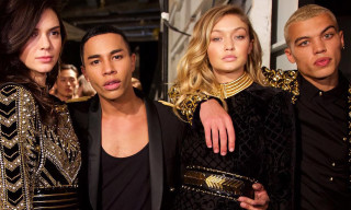 Everything That Happened at the H&M x Balmain Runway Show in New York