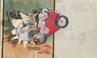 "Honda's History Gets Illustrated on ""Paper"""