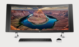 HP Presents the World's Widest Curved All-in-One PC