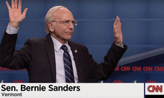Larry David as Bernie Sanders on 'Saturday Night Live'