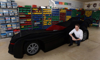 This Is the World's Largest LEGO Brick Batmobile