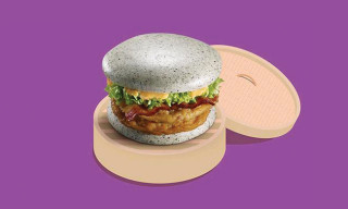 McDonald's Releases Gray Burger in China