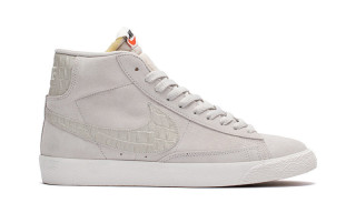 Nike Drops a Set of Tonal Croc-Swoosh Blazers