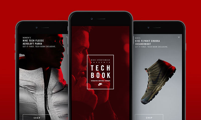 Nike Sportswear s First Interactive Shoppable Style Guide Is Here ... d261cb9d5c01
